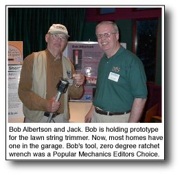 Bob Albertson and Jack Smith patent illustratorBob Albertson and Jack Smith patent illustrator