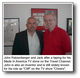 John Ratzenberger inventor and Jack Smith